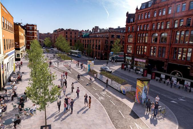 Northern Quarter streets set for permanent pedestrianisation, council confirms, The Manc
