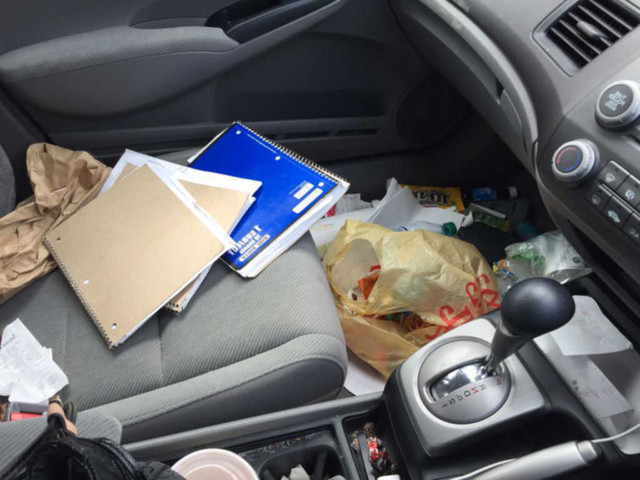 The search is on for 'Britain's messiest car' and there's still time for Mancs to get their entries in, The Manc