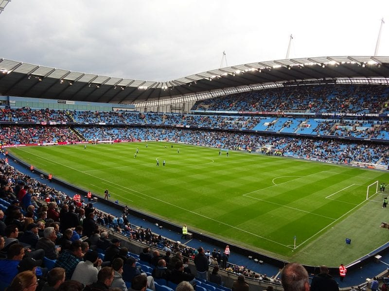 The extraordinary first derby at the City of Manchester Stadium, The Manc