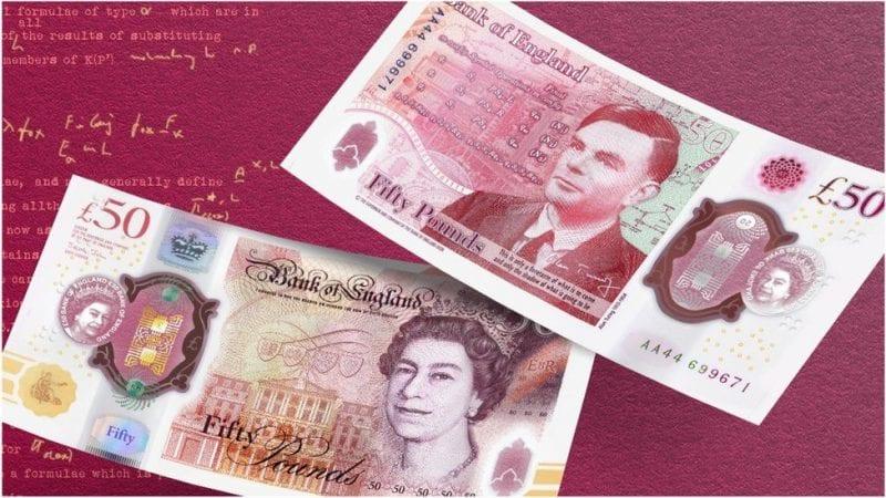 Alan Turing £50 banknote design revealed, The Manc