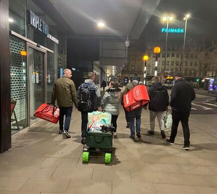 The Manchester lads fundraising to become a registered charity to help the city's homeless, The Manc