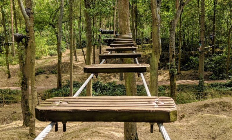 A new treetop adventure park is opening up on Manchester's doorstep next month, The Manc