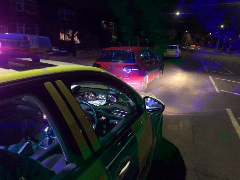 Trafford police find uninsured driver out 'looking for the moon', The Manc