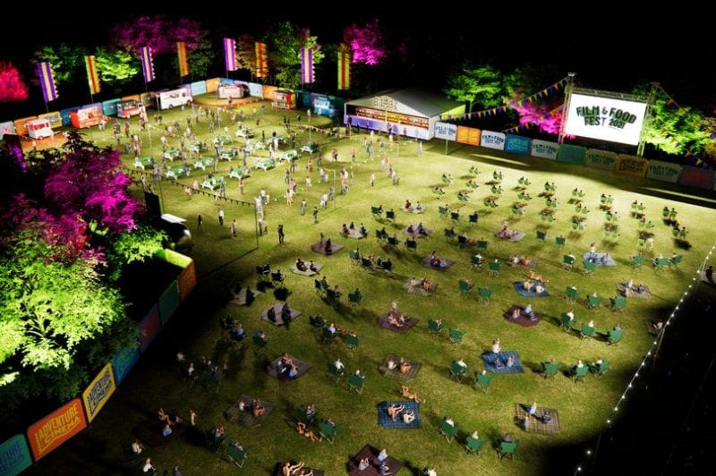 A huge new open-air cinema and street food festival is coming to Heaton Park, The Manc