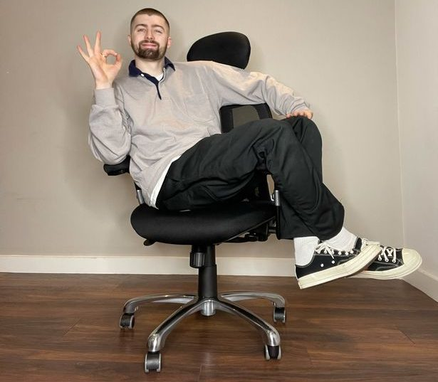 Tom Malone Jr lands his first post-Gogglebox job as an official 'chair tester', The Manc