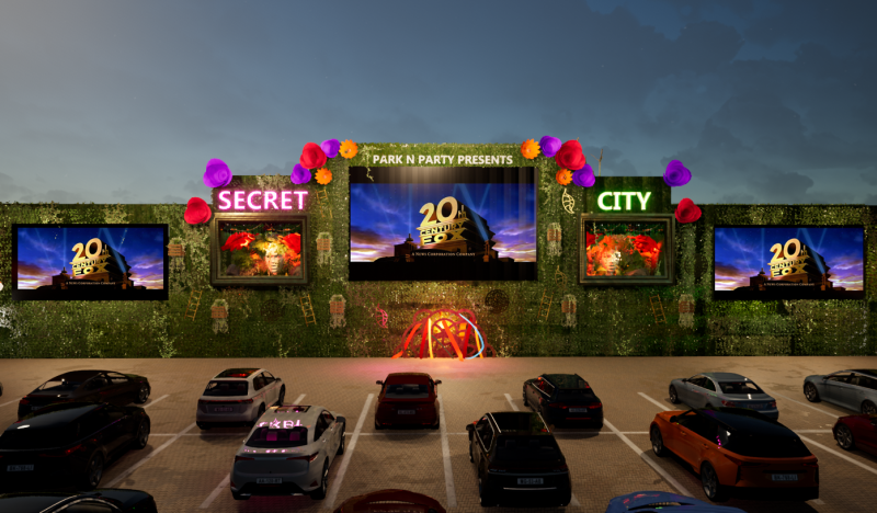 Immersive drive-in cinema entertainment is returning to Manchester next month, The Manc