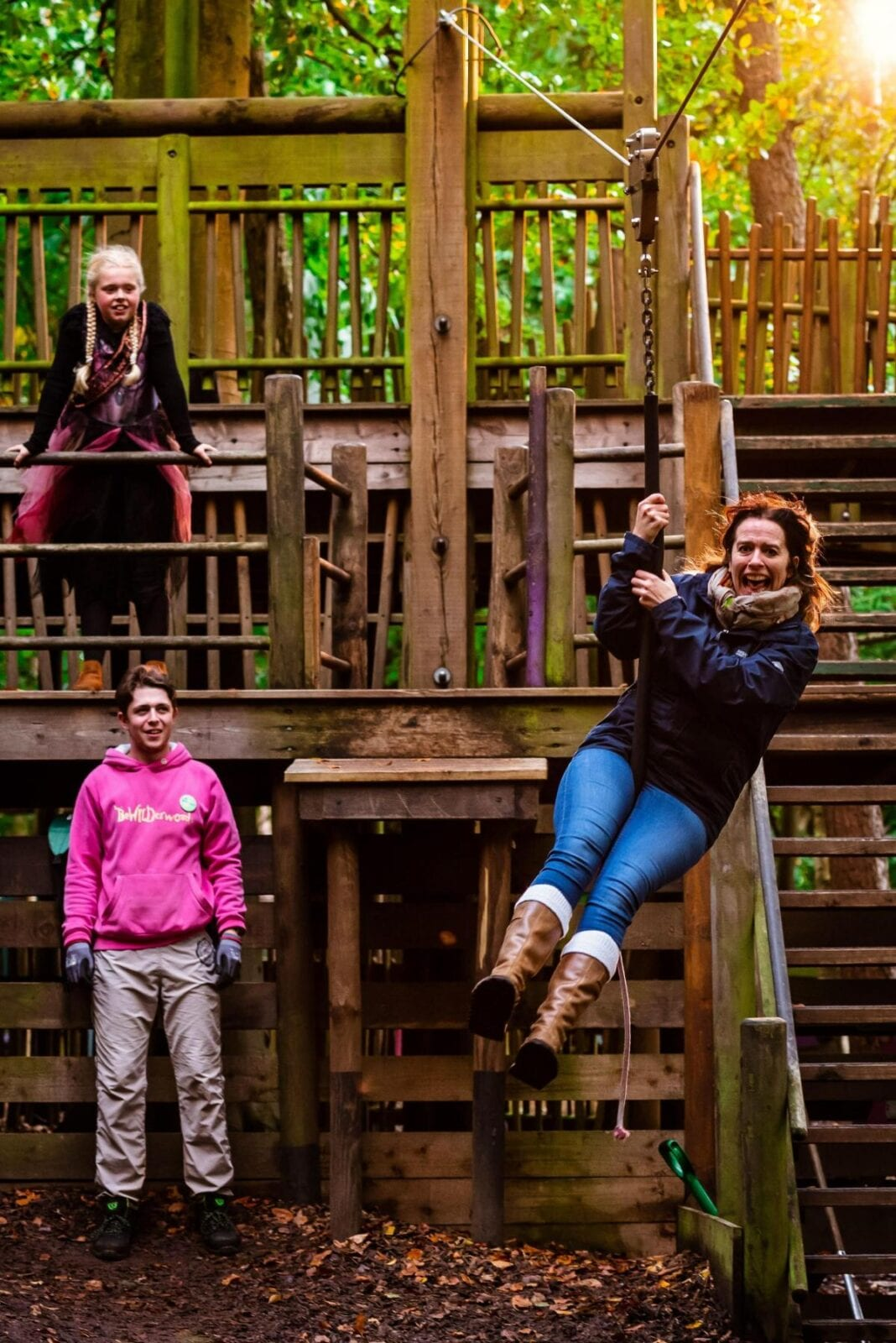 A unique woodland adventure park is opening next to a castle in Cheshire in April, The Manc