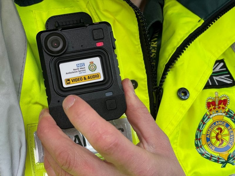 Body cams for ambulance crews piloted in Manchester, The Manc