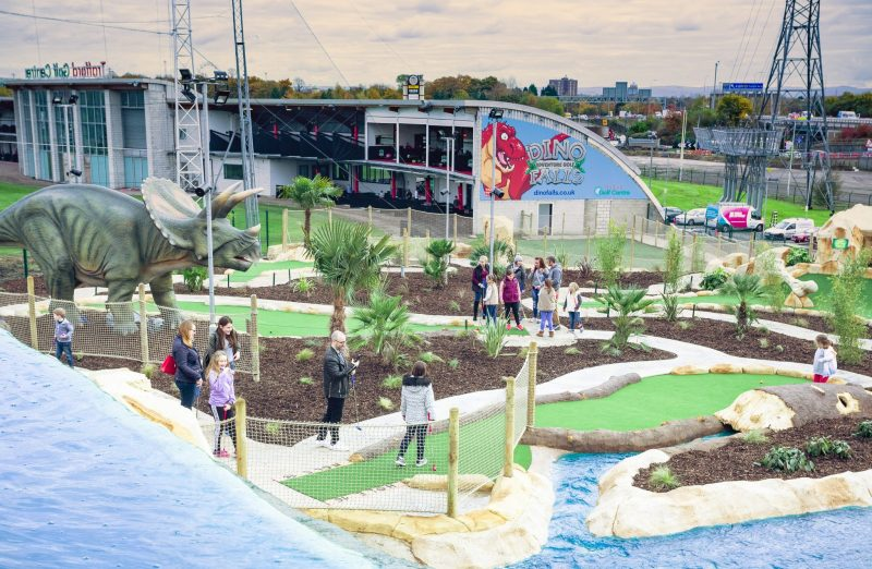 Dino Falls Adventure Golf is reopening in Trafford next week, The Manc