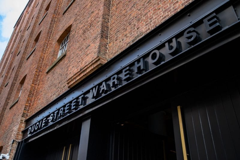 A brand new 'all day dining and drinking' outdoor terrace is opening at Ducie Street Warehouse, The Manc