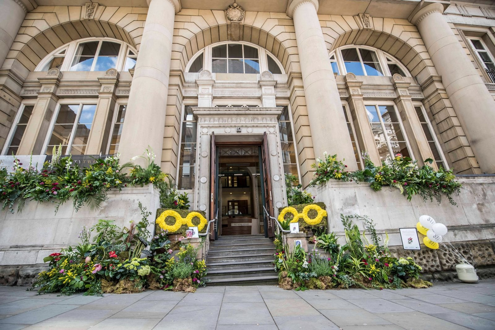 The streets of Manchester city centre will be filled with flower sculptures this summer, The Manc
