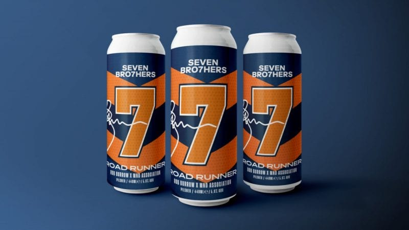 Seven Bro7hers teams up with rugby legend to create new 'road runner' charity beer, The Manc