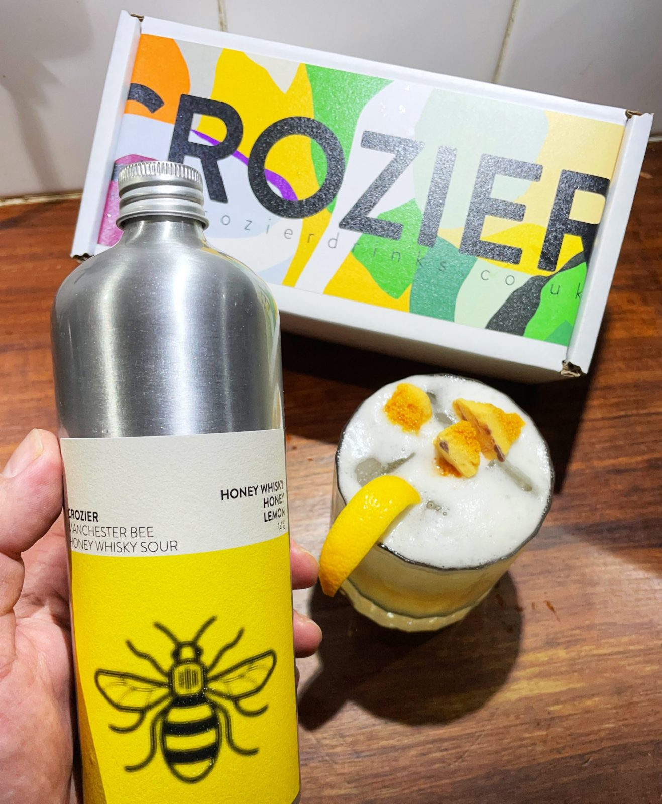 Local drinks company Crozier Drinks launches new 'Manchester Bee' cocktail, The Manc