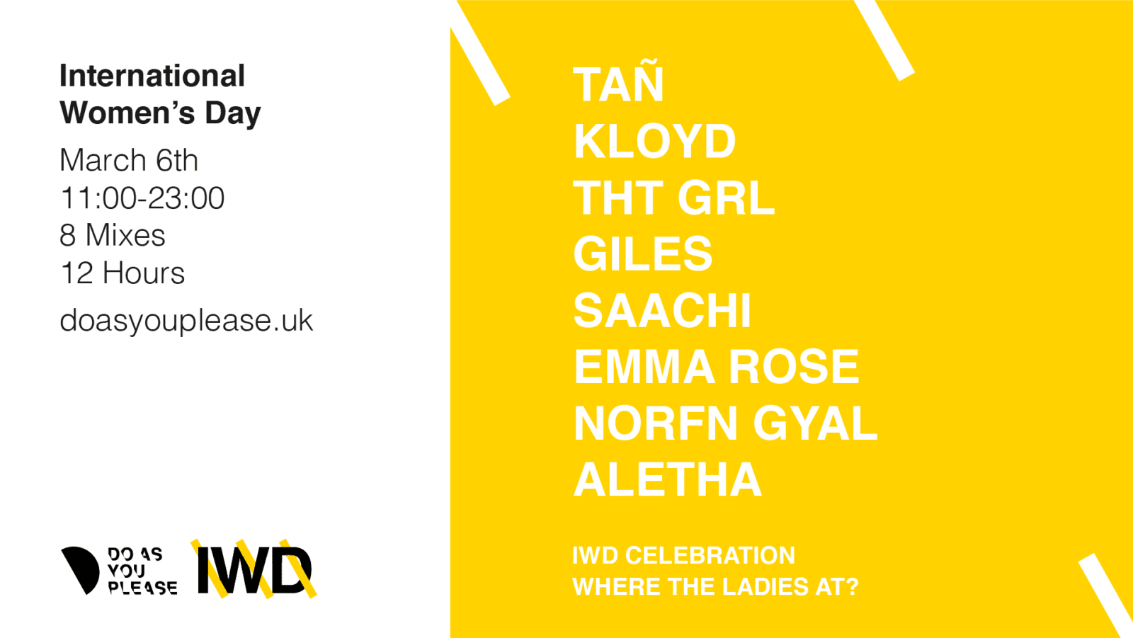 Manchester label's showcase of women in music launches on Saturday, The Manc