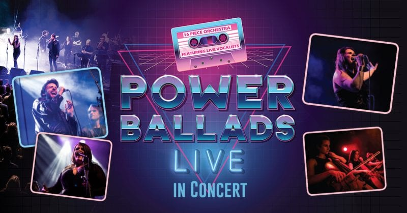 Spectacular 'Power Ballads Live!' show is returning to Manchester, The Manc