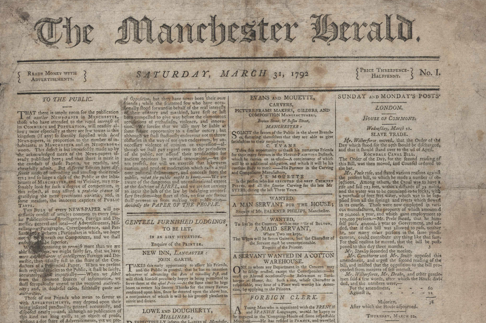 The Manchester Herald: How the city's first radical newspaper was silenced, shut down and smashed to pieces, The Manc