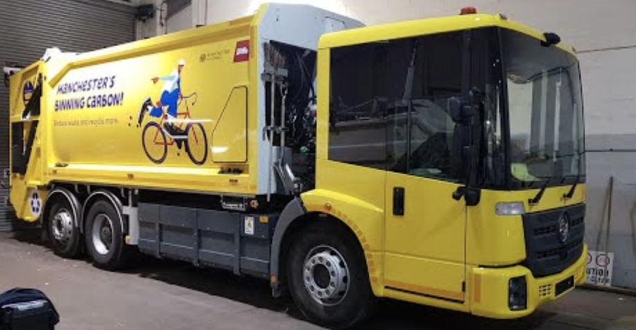 Manchester's electric bin lorries need new names – and voting is open now, The Manc