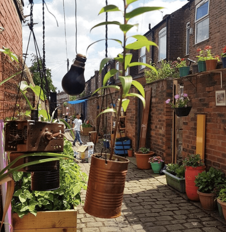 How a Moss Side community transformed an 'anti-social' alley into a neighbourhood hub, The Manc