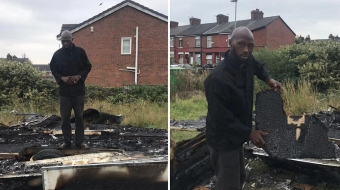 Victim of food truck fire left living on 'handouts' and verge of eviction, The Manc