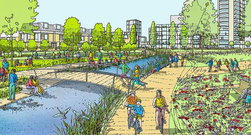 There's a huge new 113-acre 'city river park' coming to north Manchester, The Manc