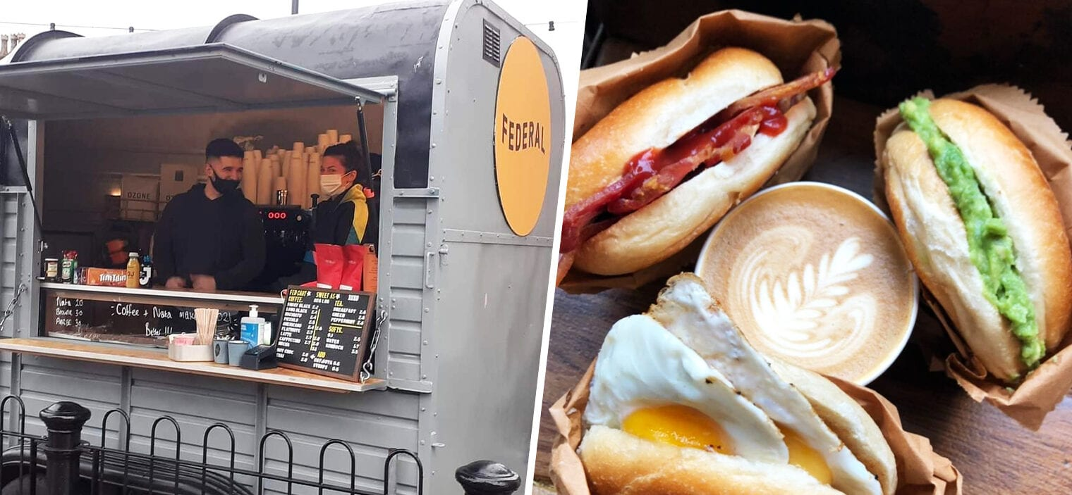 Federal ordered to close its popular takeaway coffee cart in Prestwich by council, The Manc