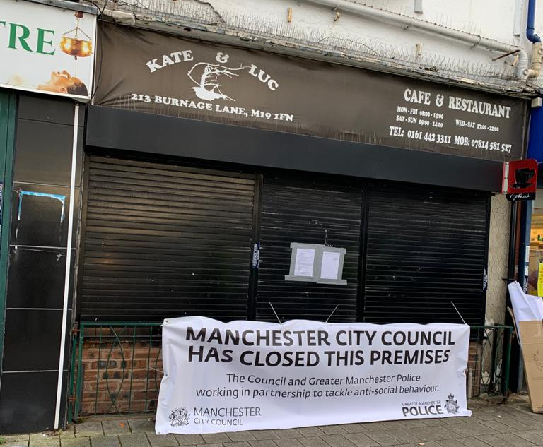 Licence stripped from Burnage cafe caught repeatedly flouting lockdown rules, The Manc