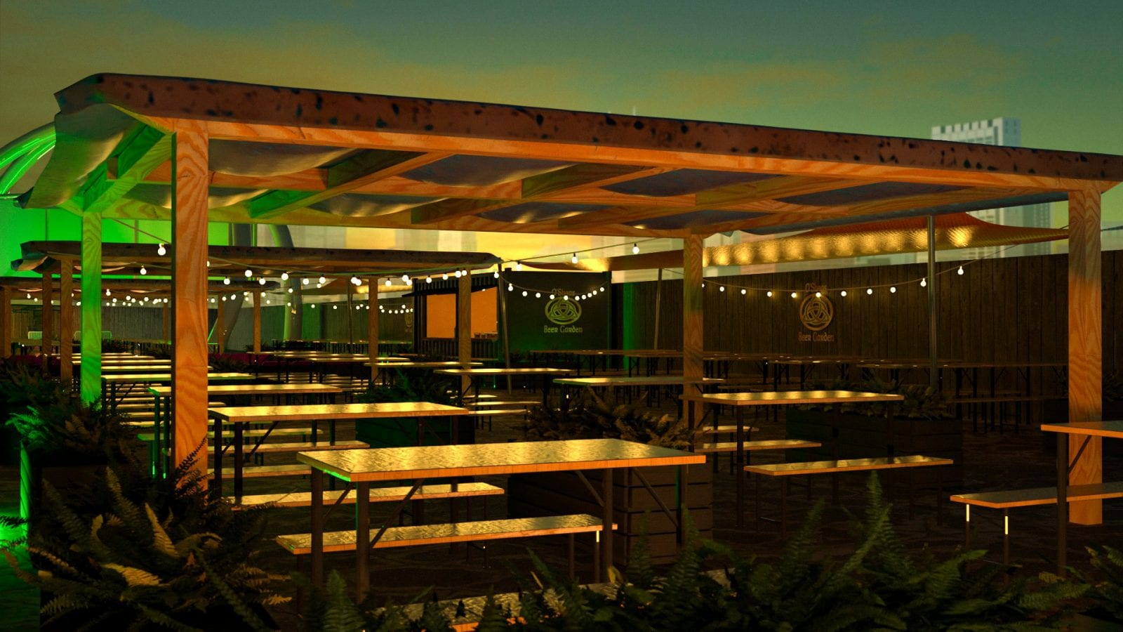 O'Sheas opens brand new beer garden venue in time for April 12, The Manc