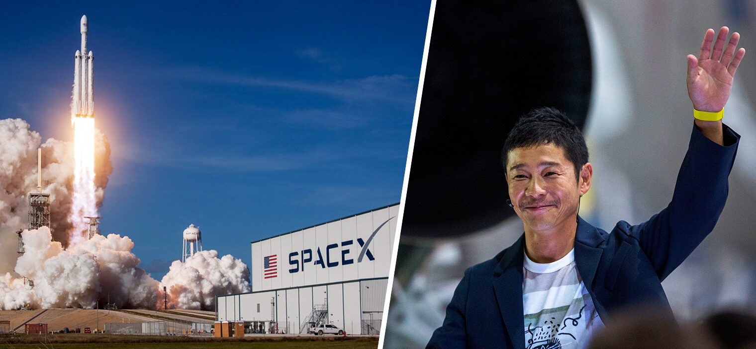 A Japanese billionaire wants to take eight random people to the moon in 2023, The Manc