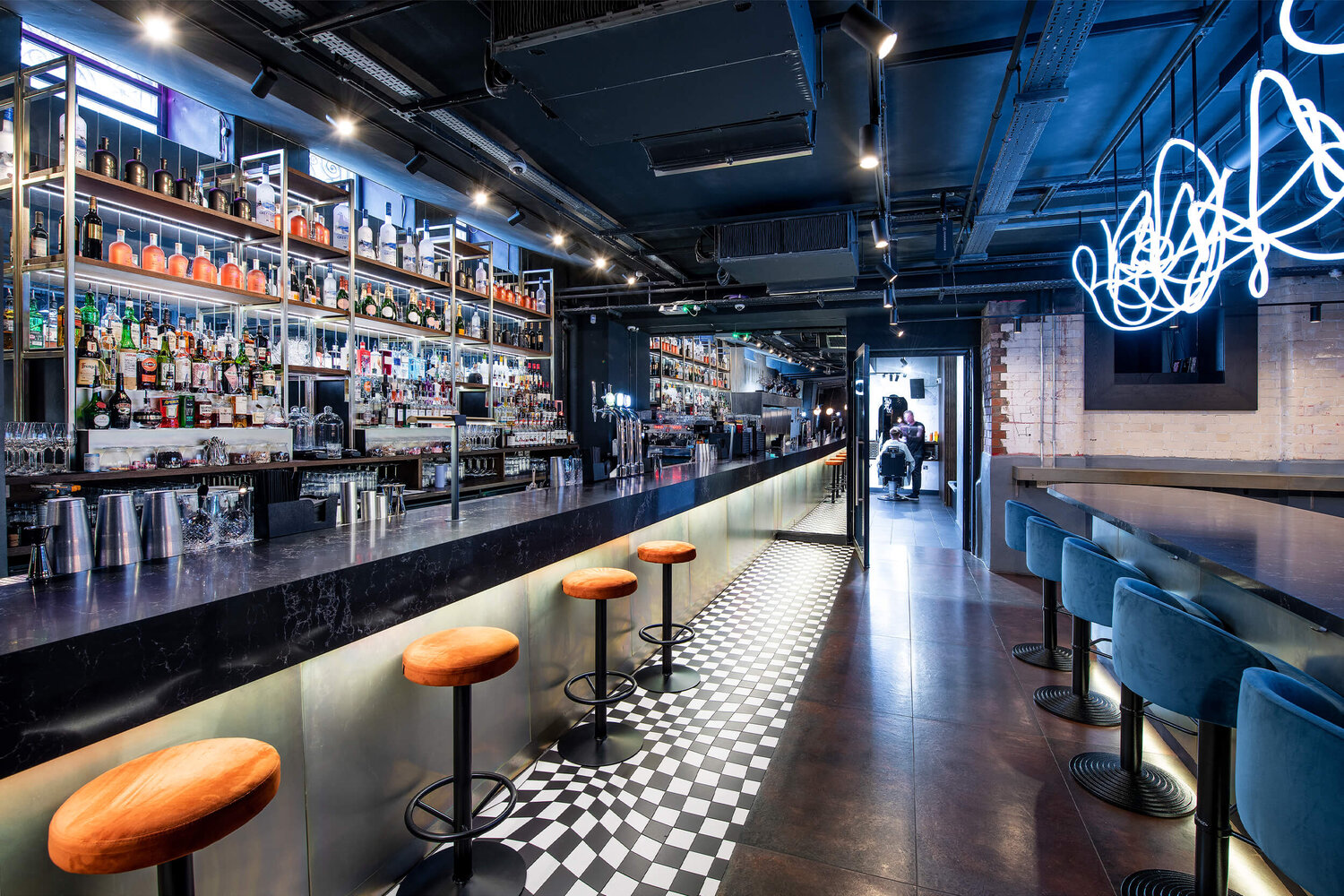 One Eight Six, one of Manchester's coolest live music bars, is taking bookings again, The Manc