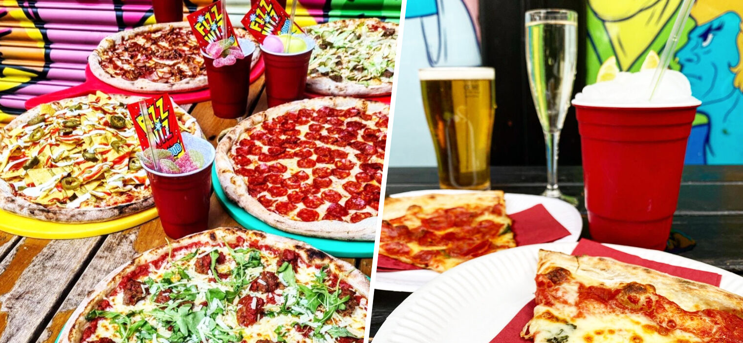 Crazy Pedro's is back with bottomless pizza and booze every day from 12th April, The Manc