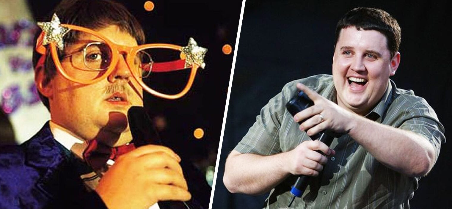 Peter Kay has been crowned as Mancunians' favourite ever UK comedian, The Manc