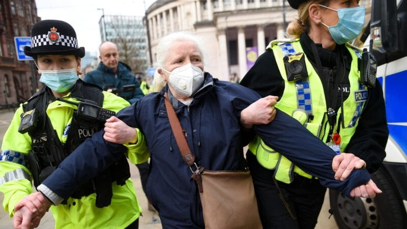 Organiser of Manchester protest over 1% NHS pay rise fined £10,000, The Manc