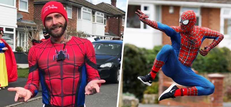 The Stockport Spider-Man raises over £14k by running three marathons in 24 hours, The Manc