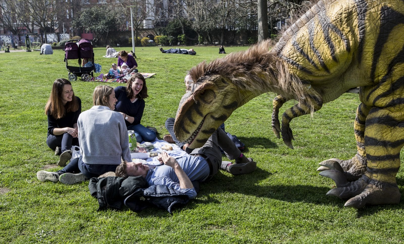 Wythenshawe Park is being transformed into an immersive 'dino kingdom' this summer, The Manc