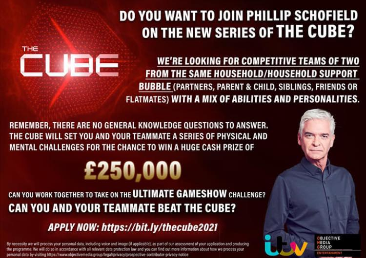 Mancunians wanted for new series of hit ITV gameshow The Cube, The Manc