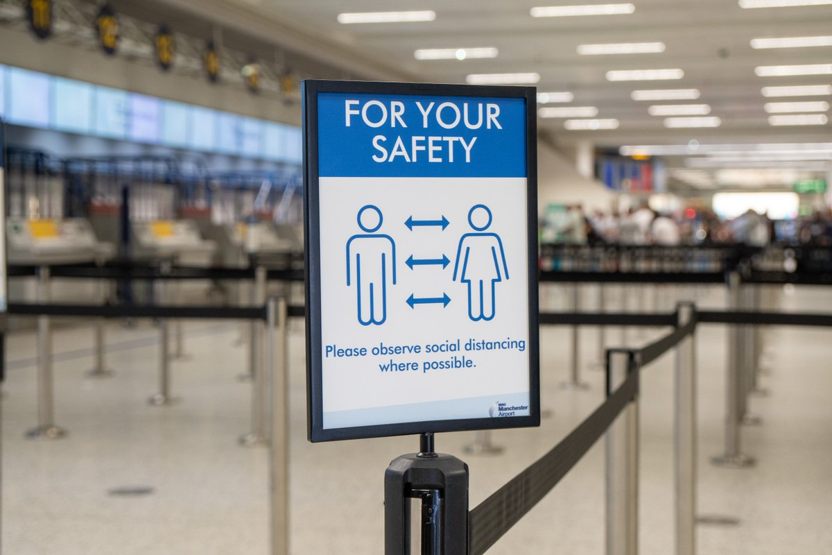 Manchester Airport has called for an end to COVID testing for travel between 'safest' countries, The Manc