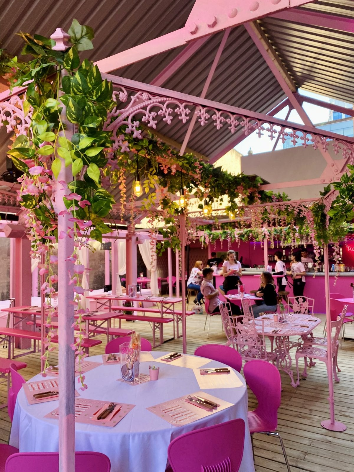 Manchester's pink restaurant 202 Kitchen is moving to a permanent Spinningfields location, The Manc