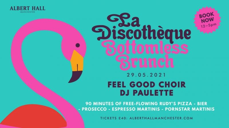 La Discotheque announces bottomless brunch with free-flowing Rudy's pizza and cocktails, The Manc