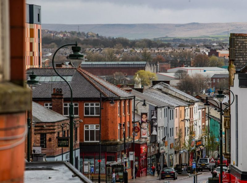 Oldham Council reminds residents to 'stay safe' as they're welcomed back to the borough's high streets, The Manc