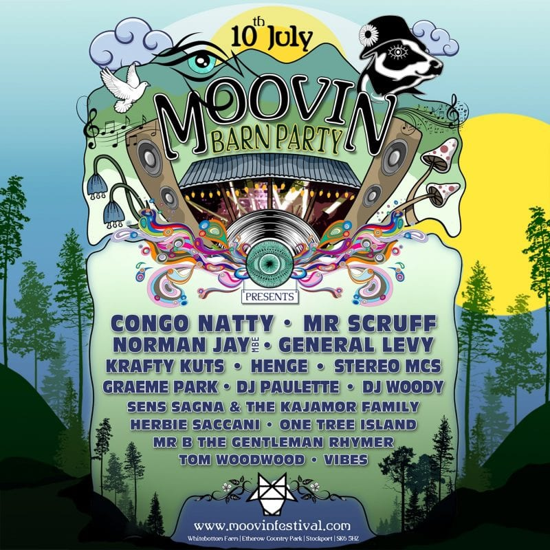 Moovin Festival announces summer barn party in Stockport, The Manc