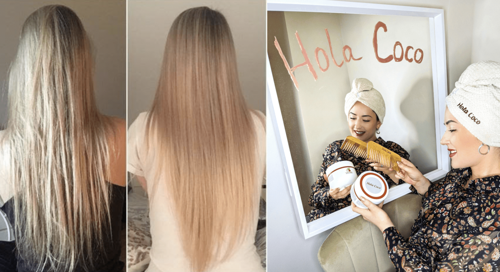 The Manchester couple who created a smash-hit coconut oil hair mask, The Manc