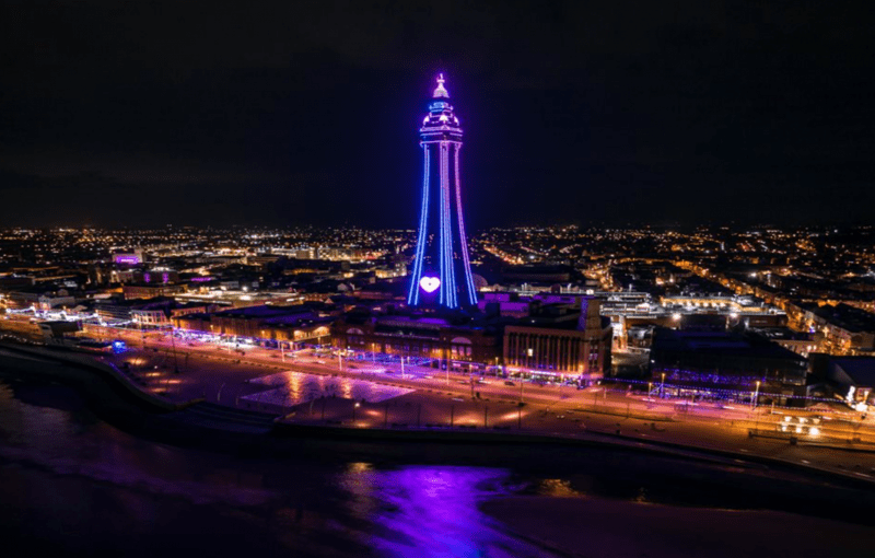 Blackpool Illuminations switch-on to be held indoors with limited numbers for second year running, The Manc