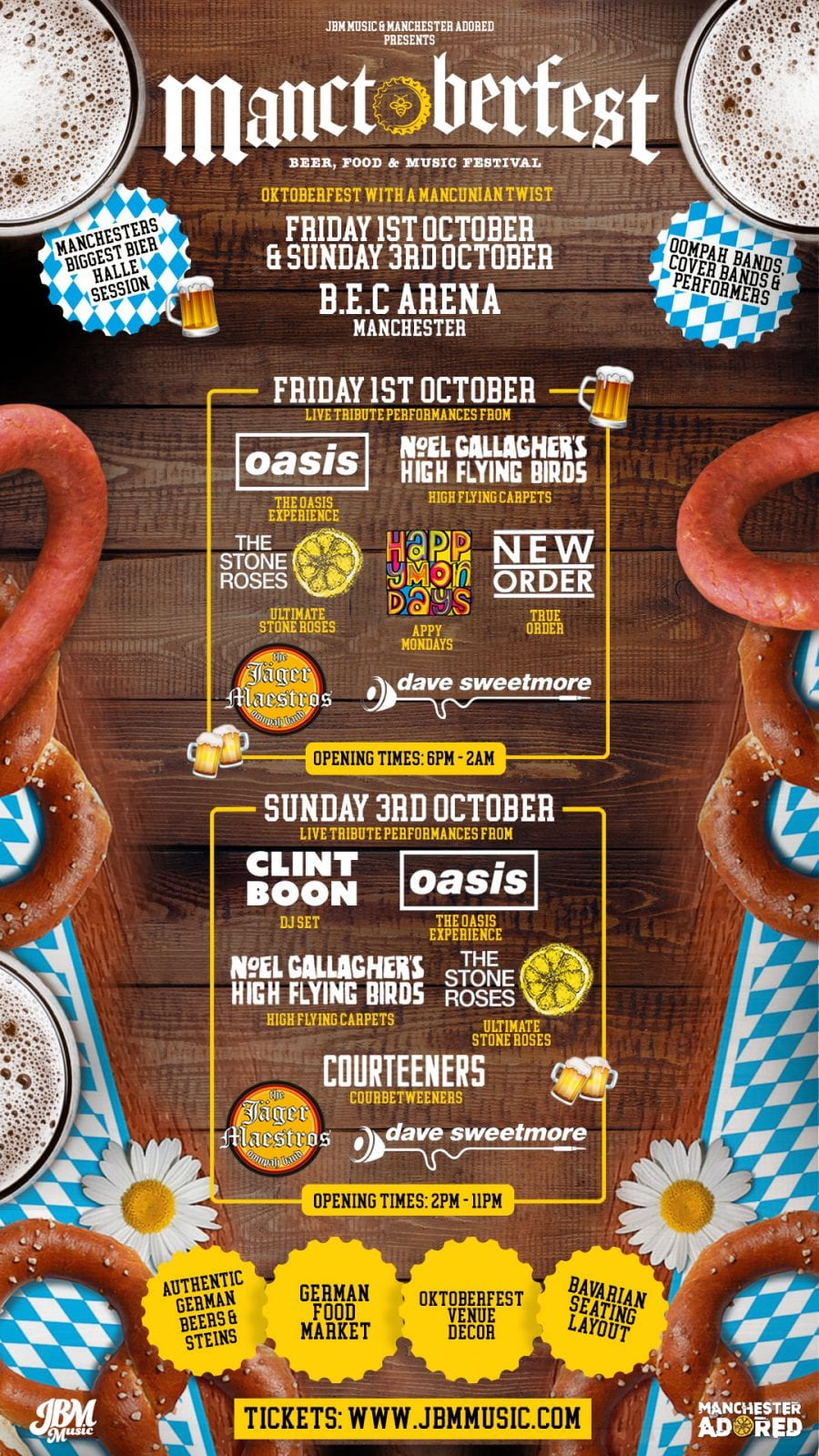 Munich comes to Manchester for 'Manctoberfest' event this autumn, The Manc