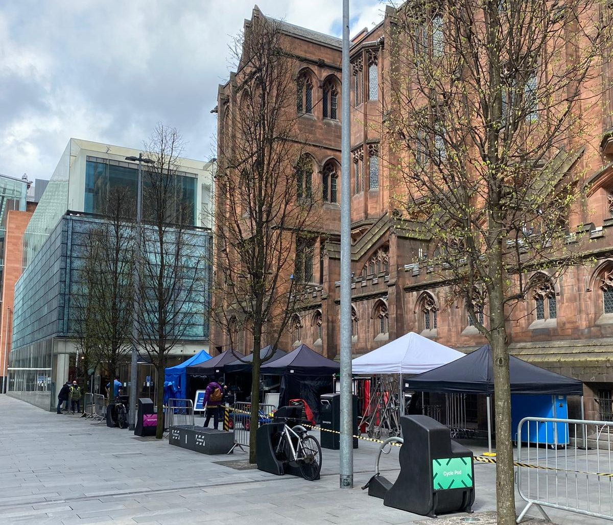 Netflix is currently filming a new series inside John Rylands Library on Deansgate, The Manc