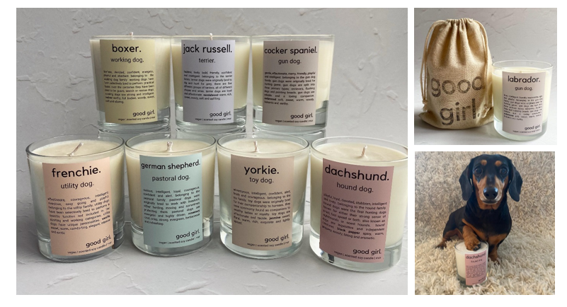 'Good Girl': The fragrant candles made for Manchester dog lovers, The Manc