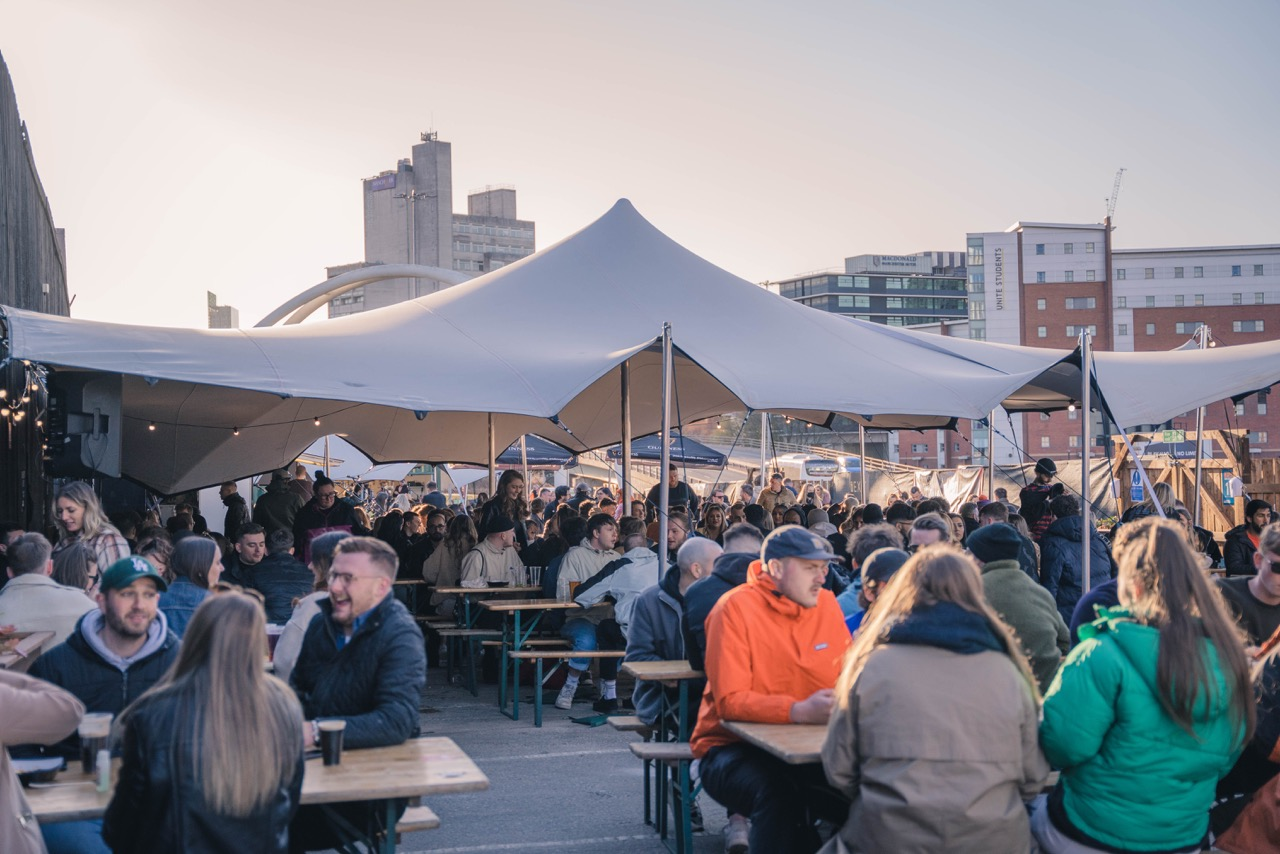 O'Sheas Beer Garden launches new 'fusion menu' with Eat New York, The Manc