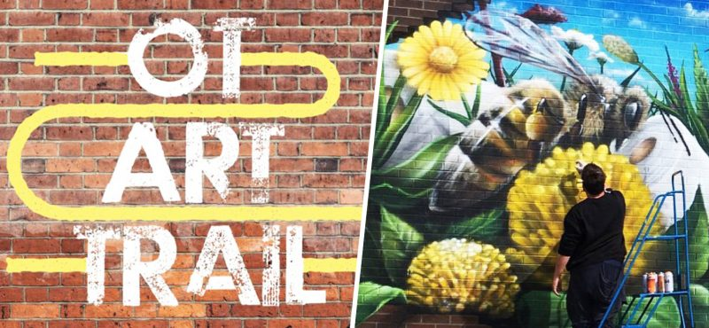 A new community street art trail is coming to Old Trafford this spring, The Manc