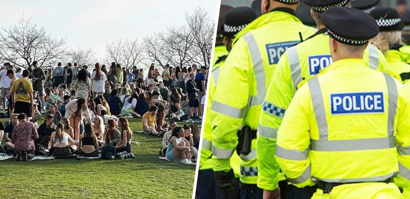 Greater Manchester Police speaks out on 'concerns' of crowds gathering at Platt Fields Park, The Manc