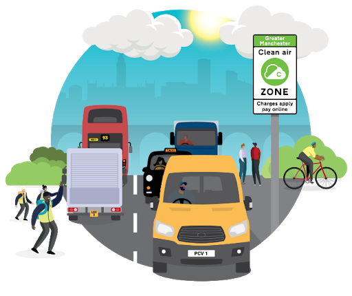 New research reveals Manchester's Clean Air Zone will 'save many lives' and inject over £7m into city economy, The Manc