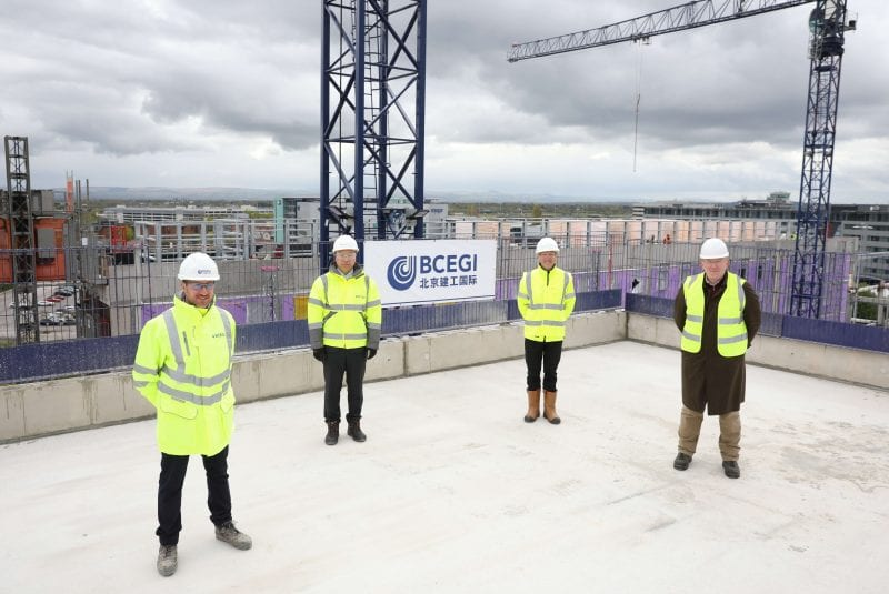 Two new hotels near completion at Manchester Airport's £250m 'Hotel District', The Manc